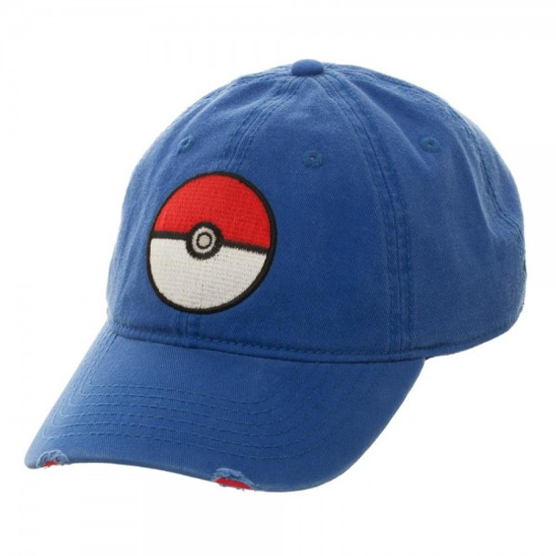 Pokemon Pokeball Dad Hat