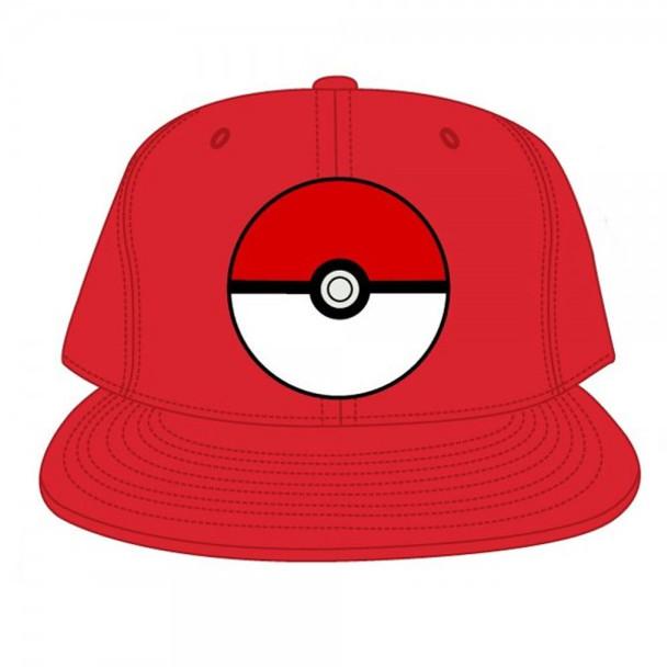 Pokemon Pokeball Red Snapback