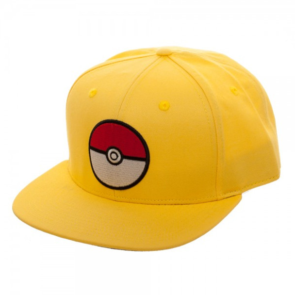 Pokemon Pokeball Yellow Snapback