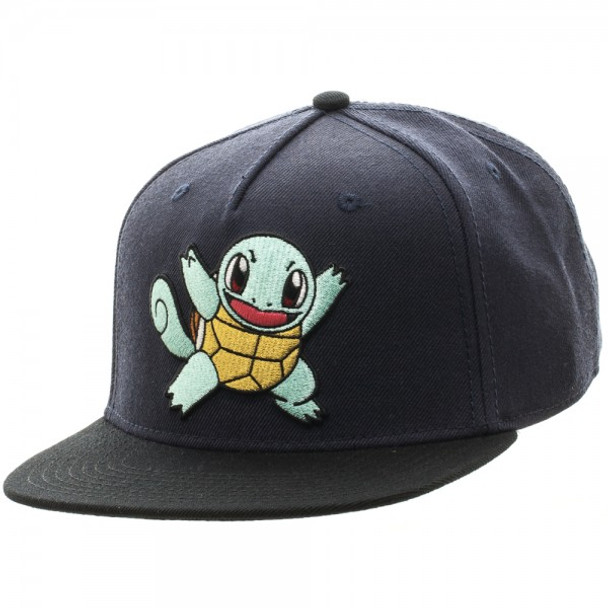 Pokemon Squirtle Color Block Snapback