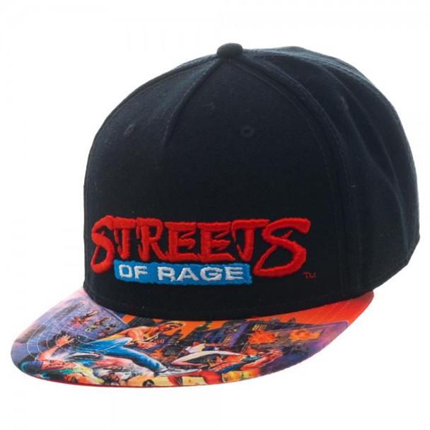 Sega Genesis Streets of Rage Snapback - Videogamesnewyork 66d42eb1b0c