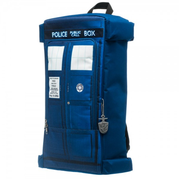Dr. Who Rectangular Tardis Backpack