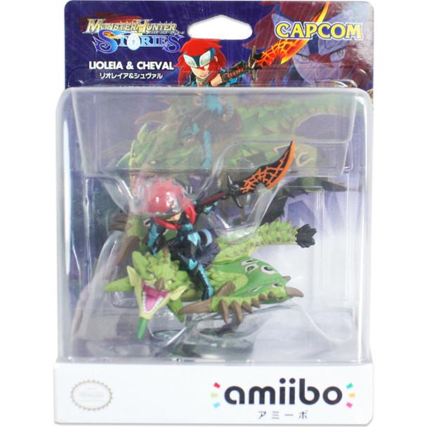 Amiibo Monster Hunter Stories  Liolaeus&Cheval - Japanese release