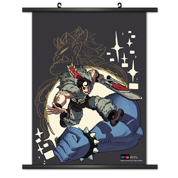 Skull Girls 001 Wall Scroll