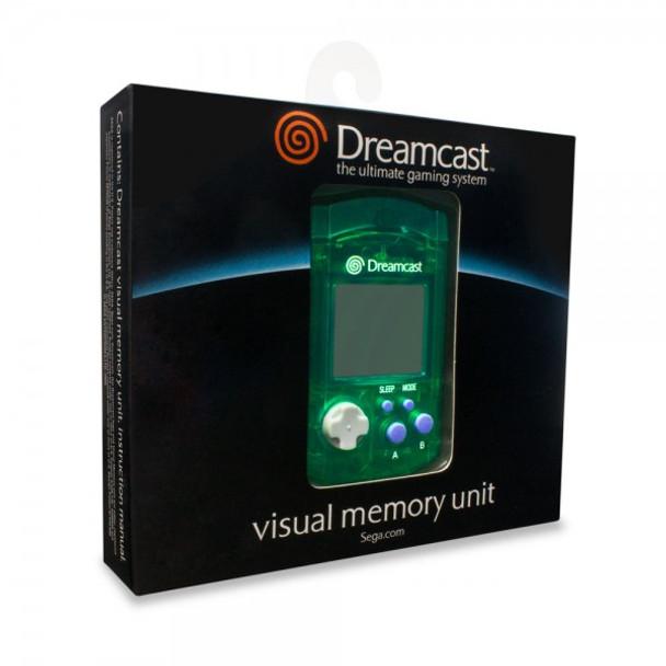 Sega Dreamcast VMU Virtual Memory Unit [GREEN]