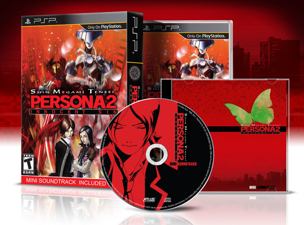 Shin Megami Tensei: Persona 2 Innocent Sin [Launch Edition]