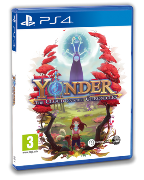 YONDER: THE CLOUD CATCHER CHRONICLES - STANDARD EDITION (PS4)