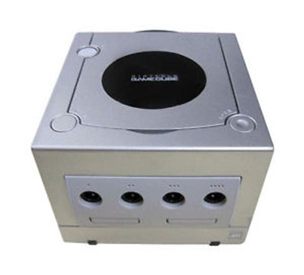 Nintendo GameCube System SILVER [DOL-001 w/ Digital Port]