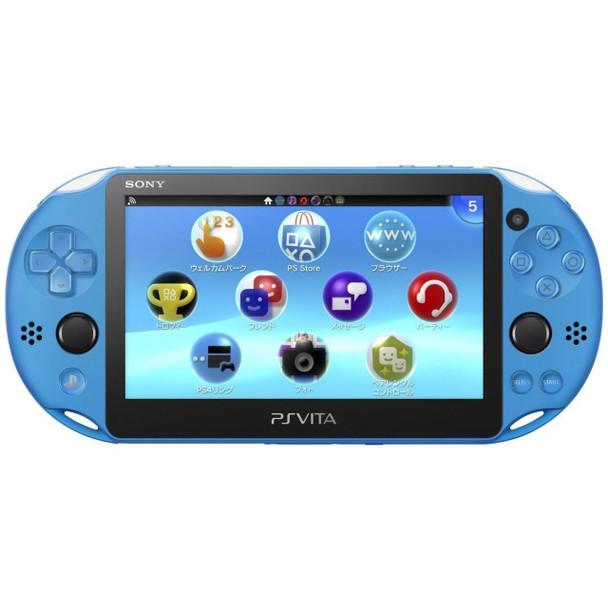 PlayStation Vita Slim 2000 [Aqua Blue] PCH-2000, PlayStation Vita, VideoGamesNewYork, VGNY