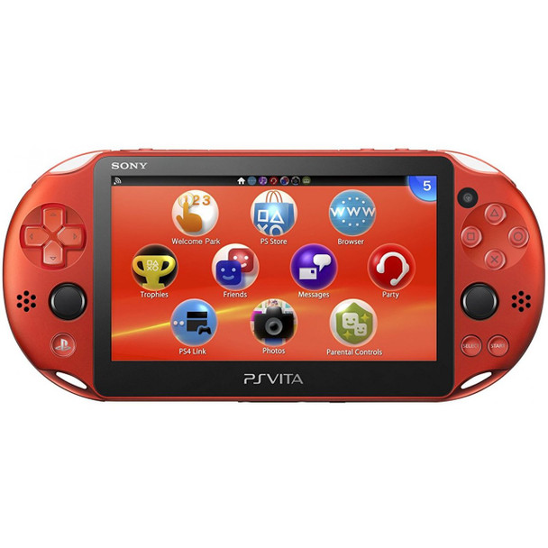 PlayStation Vita Slim 2000 [METALLIC RED] PCH-2000, PlayStation Vita, VideoGamesNewYork, VGNY