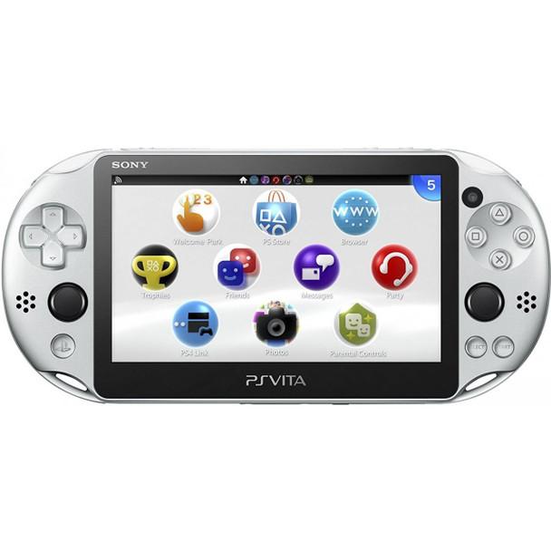 PlayStation Vita Slim 2000 [SILVER] PCH-2000, PlayStation Vita, VideoGamesNewYork, VGNY