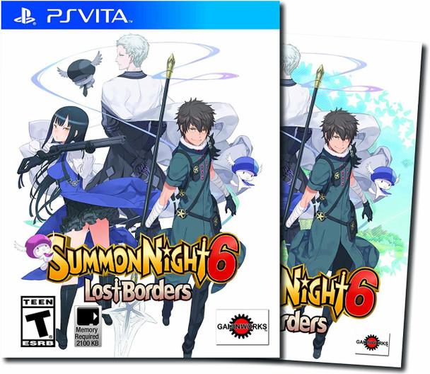 Summon Night 6: Lost Borders - PlayStation Vita, VideoGamesNewYork, VGNY
