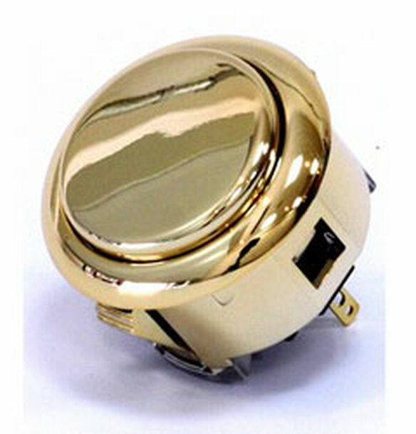 OBSJ-30 BUTTON Metallic Gold