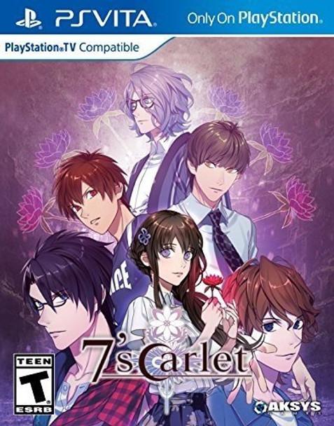 7'scarlet - PlayStation Vita, VideoGamesNewYork, VGNY