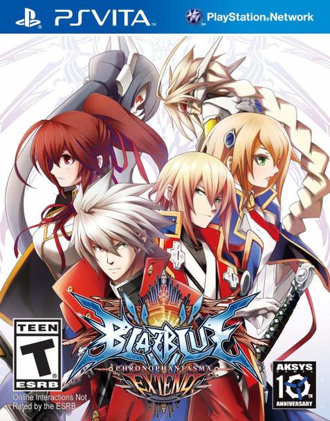 BlazBlue: Chrono Phantasma EXTEND - PlayStation Vita, VideoGamesNewYork, VGNY