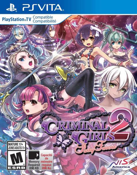Criminal Girls 2: Party Favors - PlayStation Vita, VideoGamesNewYork, VGNY