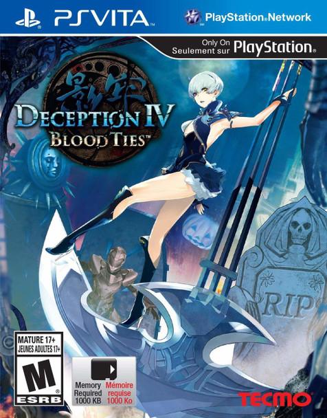 Deception IV: Blood Ties - PlayStation Vita
