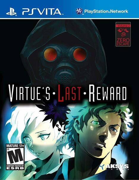 Zero Escape Virtue's Last Reward - PlayStation Vita, VideoGamesNewYork, VGNY