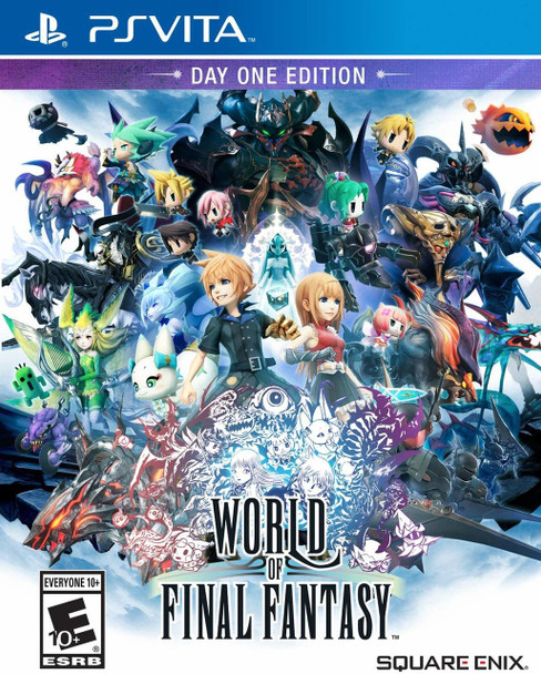World of Final Fantasy - PlayStation Vita,  VideoGamesNewYork, VGNY