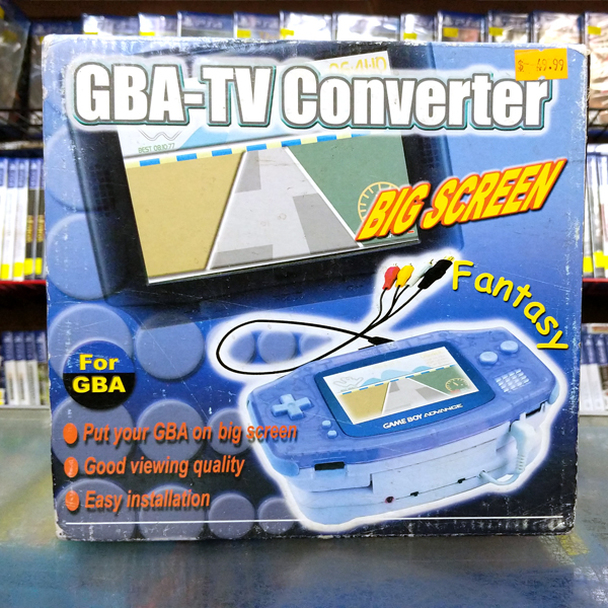 GBA-TV Converter