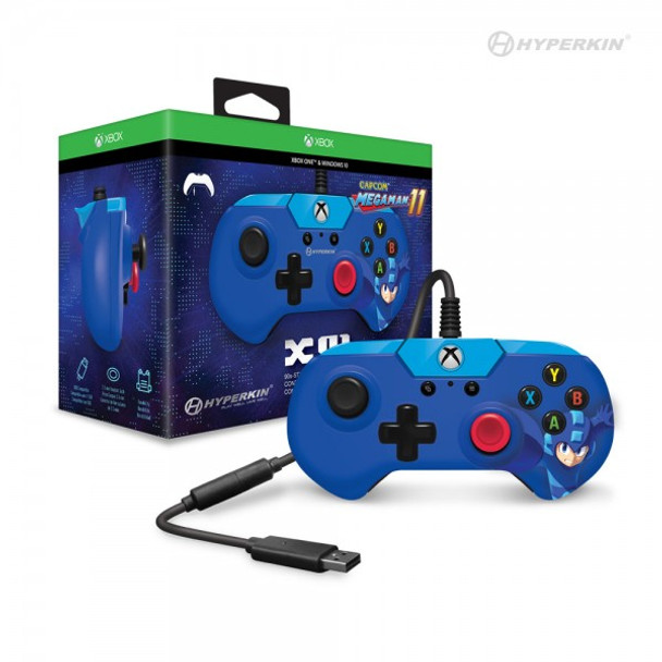 X91 Wired Controller for Xbox One/ Windows 10 PC (Mega Man 11 Limited Edition)