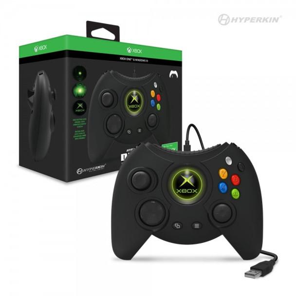 Hyperkin Duke Wired Controller for Xbox One/ Windows 10 PC (Black)