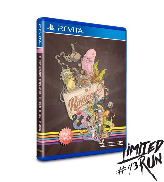 LIMITED RUN #43: RUNNER2 (VITA), PlayStation Vita, VideoGamesNewYork, VGNY