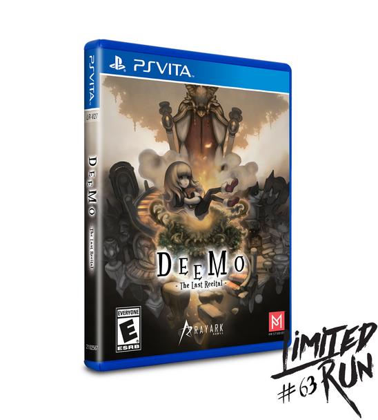 LIMITED RUN #63: DEEMO (VITA), PlayStation Vita, VideoGamesNewYork, VGNY