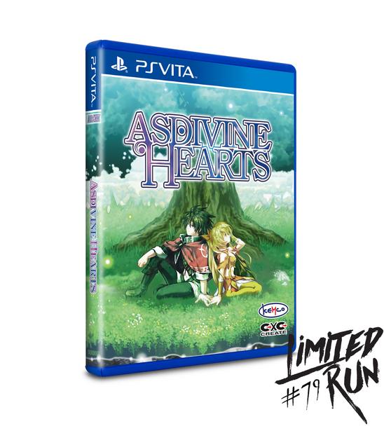 LIMITED RUN #79: ASDIVINE HEARTS (VITA), PlayStation Vita, VideoGamesNewYork, VGNY