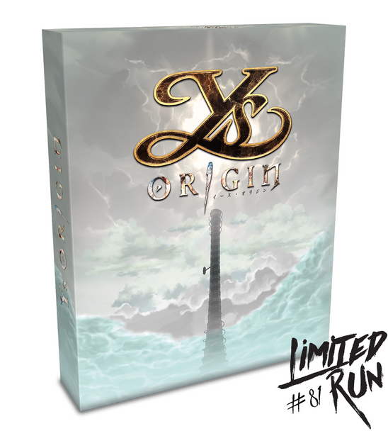 LIMITED RUN #81: YS ORIGIN COLLECTOR'S EDITION (VITA), PlayStation Vita, VideoGamesNewYork, VGNY