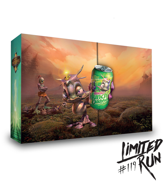 MUNCH'S ODDYSEE COLLECTOR'S EDITION (VITA) LIMITED RUN #119, PlayStation Vita, VideoGamesNewYork, VGNY