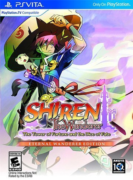 Shiren The Wanderer: The Tower of Fortune and the Dice of Fate Eternal Wanderer Collector Limited Edition