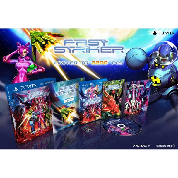 FAST STRIKER [LIMITED EDITION], PlayStation Vita, VideoGamesNewYork, VGNY