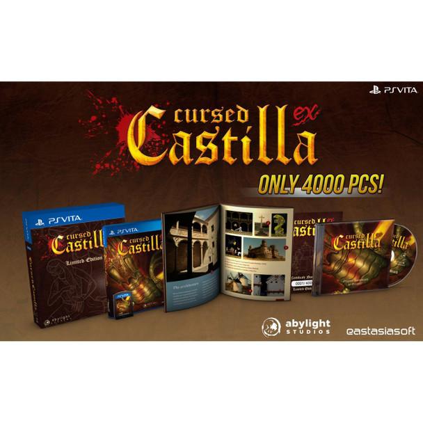 CURSED CASTILLA EX [LIMITED EDITION] , PlayStation Vita, VideoGamesNewYork, VGNY