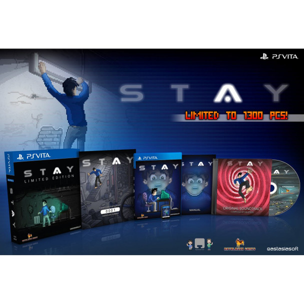 STAY [LIMITED EDITION] , PlayStation Vita, VideoGamesNewYork, VGNY