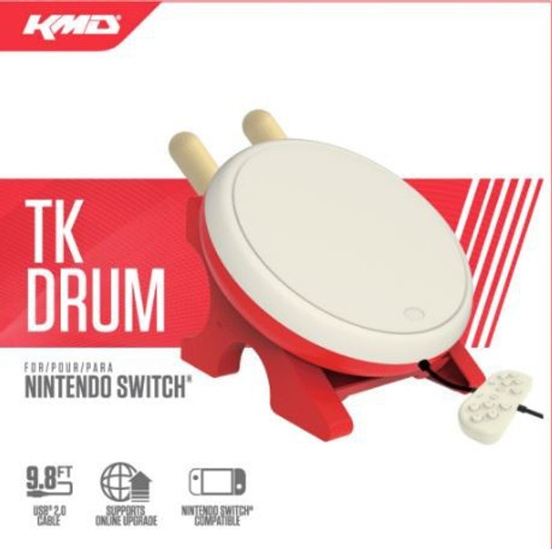 TK Drum for Taiko Drum Master Nintendo Switch
