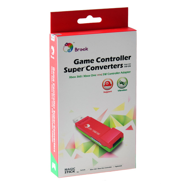 Brook Super Converter: XB360/XB1 to Nintendo Switch USB Adapter