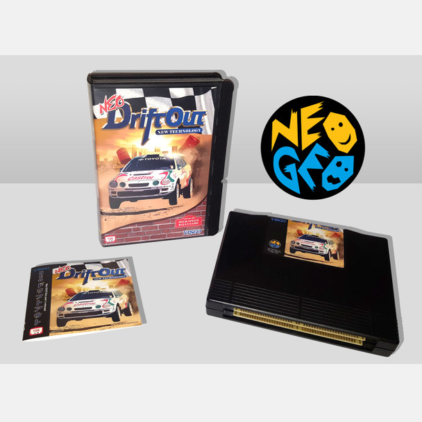 Neo Drift Out: New Technology NEO GEO AES