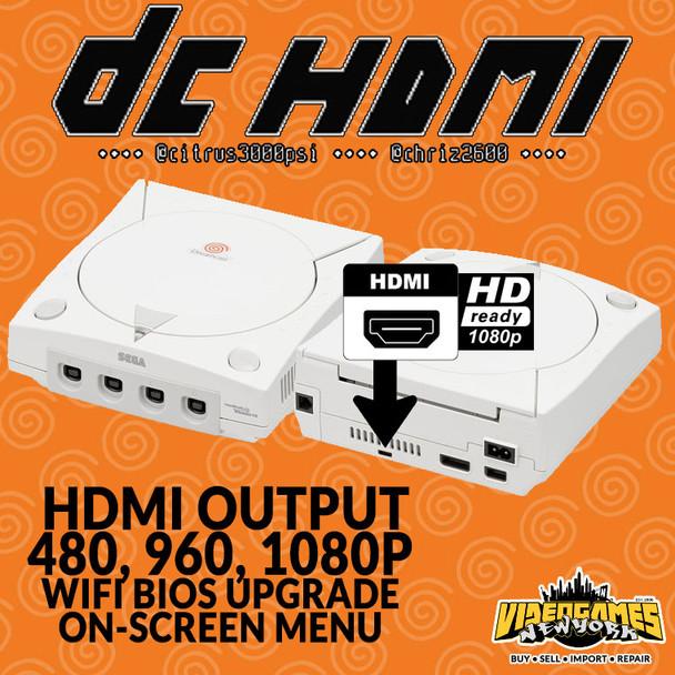 Dreamcast DCHDMI PCB & Installation Service