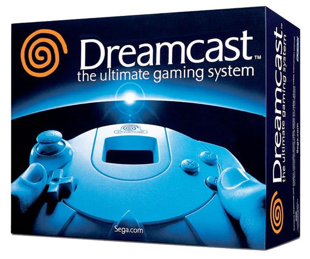Sega Dreamcast System - White [CIB] [USA] w/ Uni-Bios Region Free