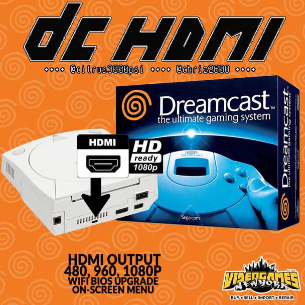 Sega Dreamcast System - White [CIB] [USA] w/ DCHDMI (CIB DCHDMI) at VideoGamesNewYork, VGNY