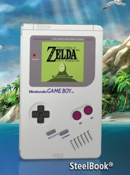 Link's Awakening Limited GameBoy Steelbook  ONLY *NO GAME*
