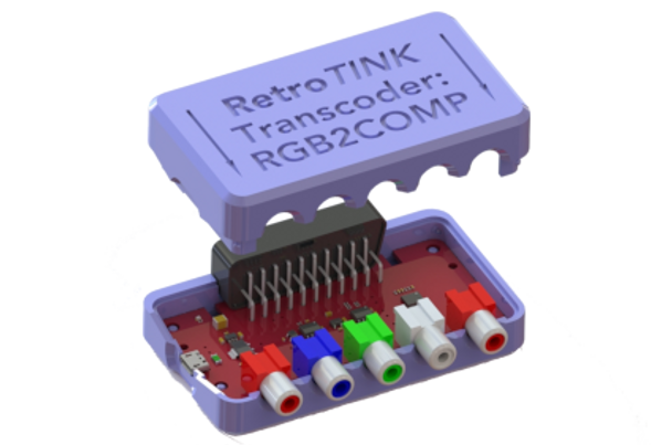RetroTINK - RGB2COMP [RGB to YPbPr Transcoder]