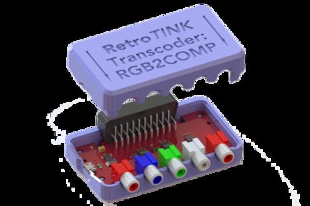RetroTINK - RGB2COMP [RGB to YPbPr Transcoder]
