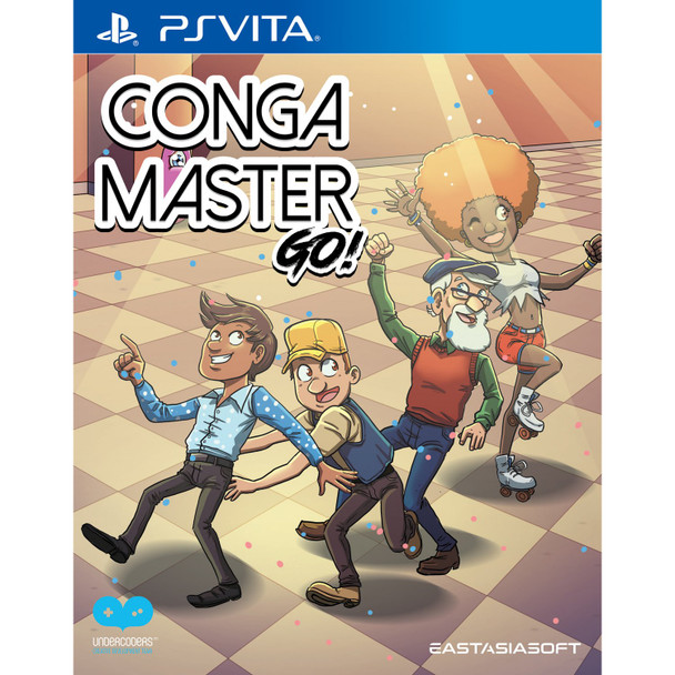 CONGA MASTER GO! [LIMITED EDITION] , PS Vita Games, PS Vita Imports, VideoGamesNewYork, VGNY
