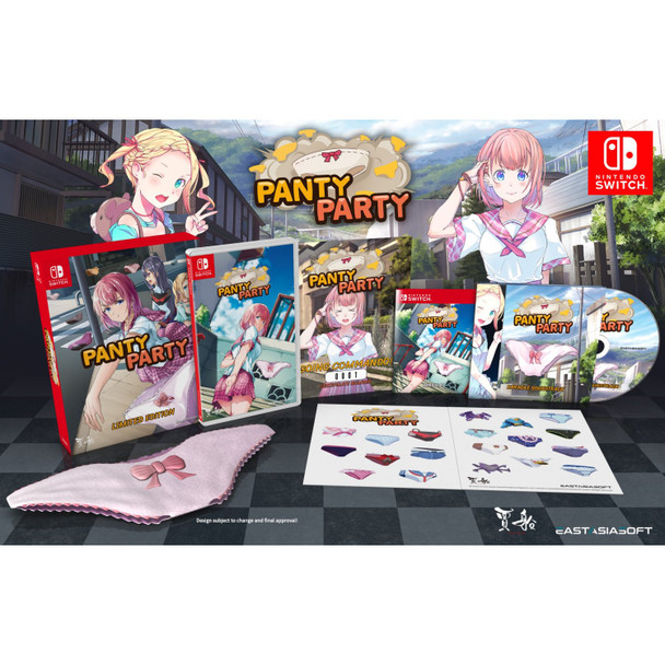 PANTY PARTY [LIMITED EDITION], Switch Imports, Switch Games, VGNY, VideoGamesNewYork