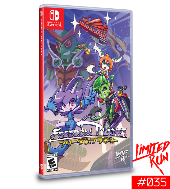 Freedom Planet (Nintendo Switch)
