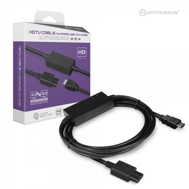 HDMI Cable for Nintendo 64, GameCube, Super Nintendo
