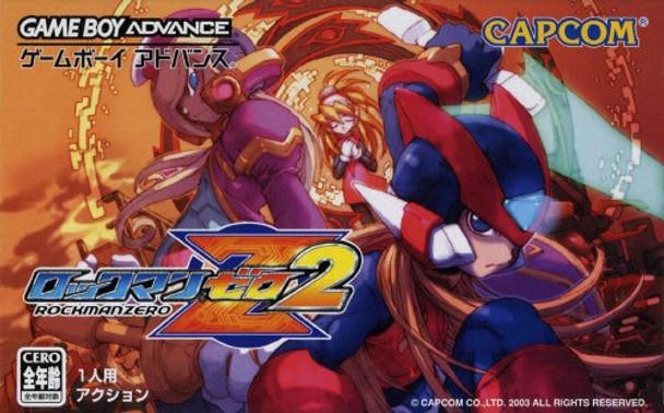 ROCKMAN ZERO 2 (Gameboy Advance)