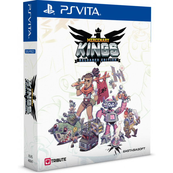 Mercenary Kings: Reloaded Edition [Limited Edition] (PlayStation Vita)